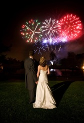 bride-groom-fireworks-on-wedding-night